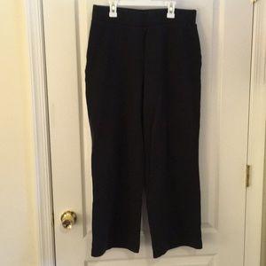 Size 14-16 cotton ponte knit pants